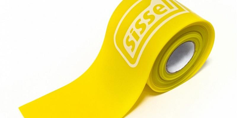 Kompresyjna taśma Sissel Flossing Band 1.1 mm żółta